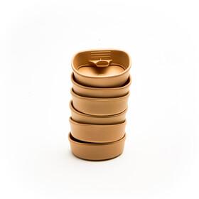 Wildo Fold-A-Cup Set Unicolor 6x Desert